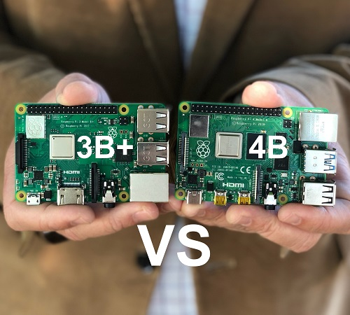 Micro Center - Raspberry Pi 4 Model B vs Raspberry Pi 3 Model B+