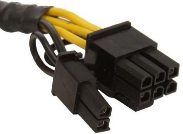 62 pin PCIe power cable