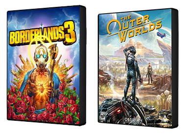 Borderlands 3 and Outer Worlds games