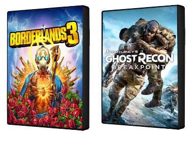 Borderlands 3 and Ghost Recon games