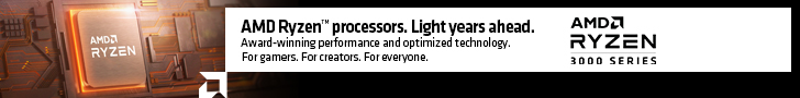 AMD Ryzen processors. Light years ahead. Award-winning performance and optimized technology. For gamers. For creators. For everyone. AMD Ryzen 3000 Series.
