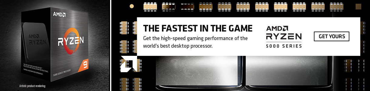 The Fastest in the Game. Get the high-speed gaming performance of the world's best desktop processor. GET YOURS.