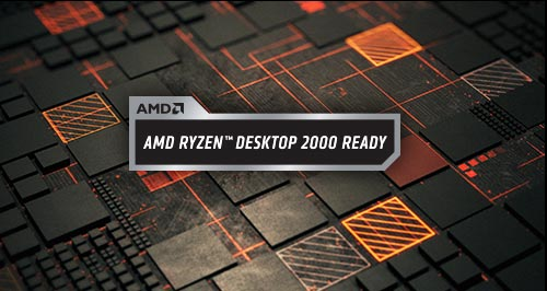 AMD Ryzen Desktop 2000 Ready badge
