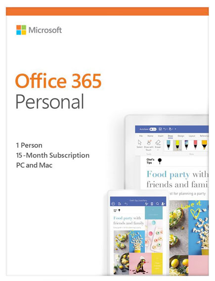 Office 365 Personal product images