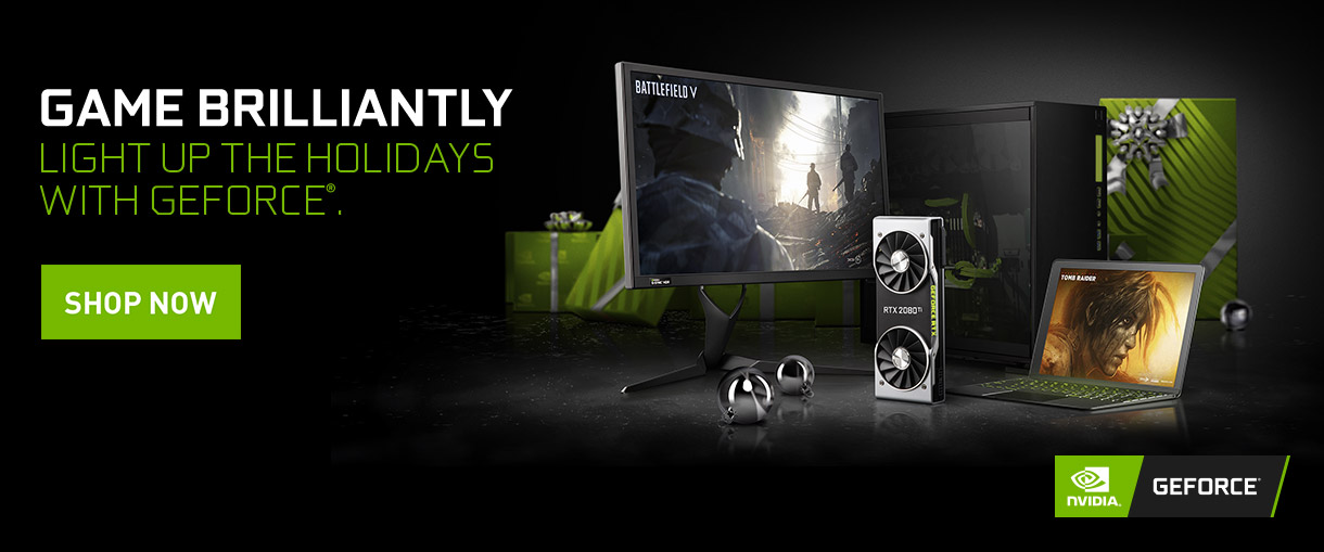 GameBrilliantly. Light Up The Holidays With GeForce.