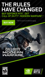 Buy GeForce RTX, Get Call of Duty: Modern Warfare for Free!