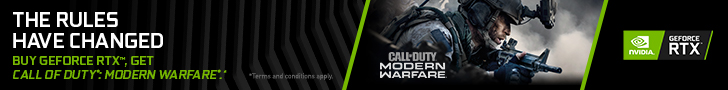 The Rules Have Changed. Buy GeForce RTX, Get Call of Duty: Modern Warfare.