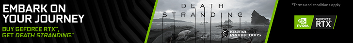 Embark On Your Journey. Buy GeForce RTX Get Death Stranding