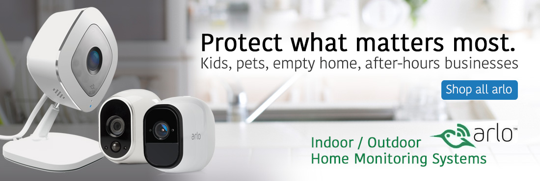 Protect what matters most. Kids, pets, empty home, after-hours businesses. Arlo - indoor / outdoor home monitoring systems. SHOP ALL ARLO
