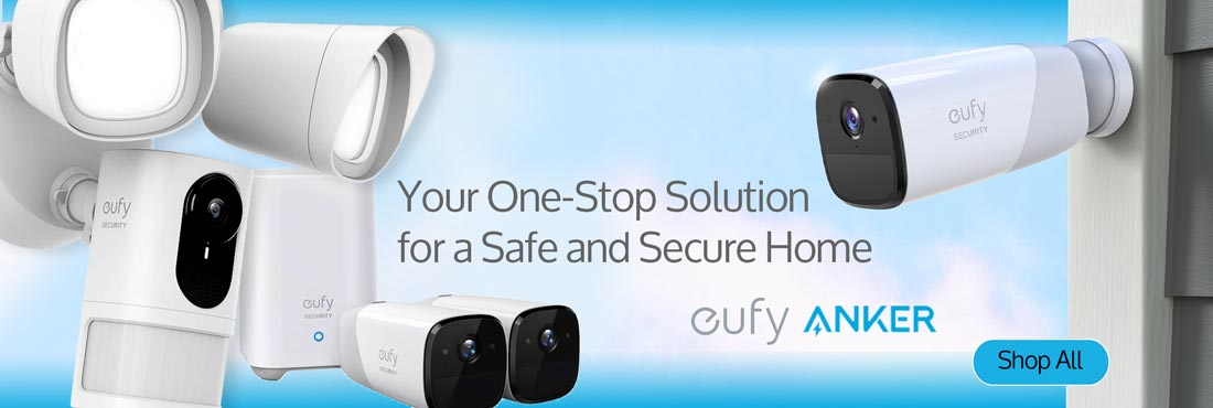 eufy and ANKER: Your One-Stop Solution for a Safe and Secure Home - Shop All