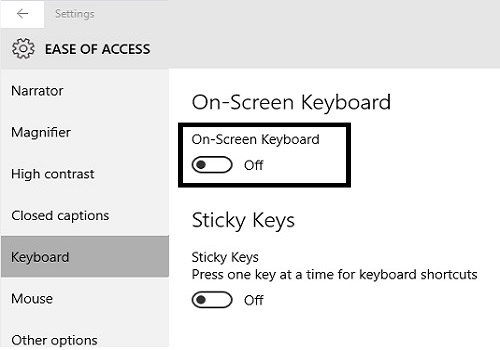 Micro Center - How to open the On-Screen Keyboard in Windows 10
