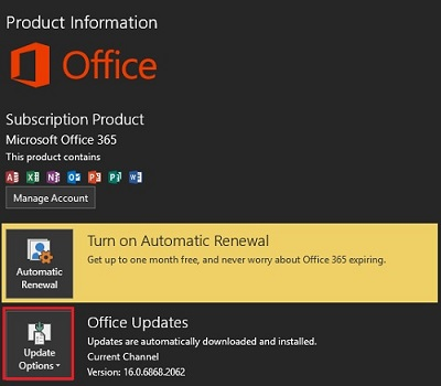 Micro Center - How to check for Updates in Microsoft Office