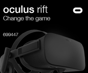 Oculus Rift. Change The Game. Sku699447