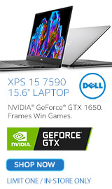 "Dell XPS 15 7590 15.6"" Gaming Laptops"