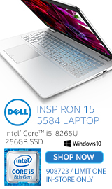 "Dell Inspiron 15 5584 15.6"" Laptop Computer"