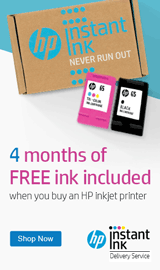 4 months of FREE ink when you buy an HP Officejet Pro Printer.