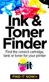 Find the correct cartridge, tank or toner for your printer
