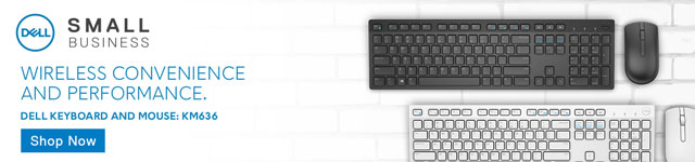 Wireless Convenience and Performance. Dell Keyboard and Mouse. KM636.
