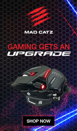 Mad Catz. Gaming gets an UPGRADE!