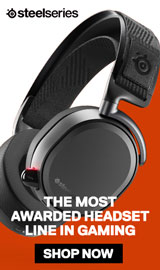SteelSeries. The most awarded headset lin in gaming.