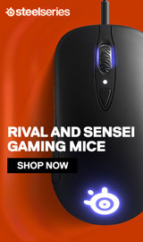 SteelSeries. Rival and Sensi Gaming Mice.