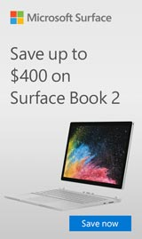 Save up to $200 on select Surface Book.