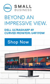 Beyond an Impressive View. Dell Ultrasharp 49 Curved Monitor