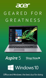 Acer Aspire 5. Geared for Greatness.