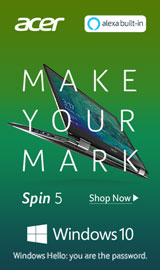Acer Spin 5. Spin into action.
