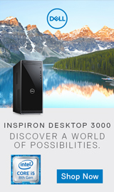 Dell Inspiron 3000. Discover a World of Possibilities.