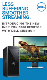 Introducing the NEW Dell Inspiron 3000 Desktop with Dell Cinema.