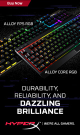 HyperX. Durability, Reliability, and Dazzling Brilliance.