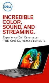 Incredible color, sound and streaming. Experience Dell Cinema on the Dell XPS 13, Remastered!