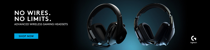 No Wires. No Limits. Advanced Wireless Gaming Headsets. Logitech.