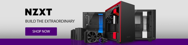 NZXT Water Cooling, Cases & Power Supplies