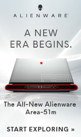 A new era begins. The All new Alienware Area-51m