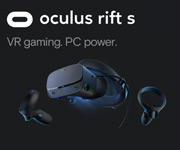 Oculus Rift S VR Gaming. PC Power.