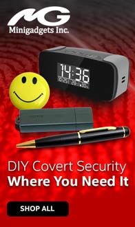 DIY Covert Security where you need it with Minigadgets - Shop All
