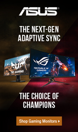 ASUS TUF Gaming Monitors.