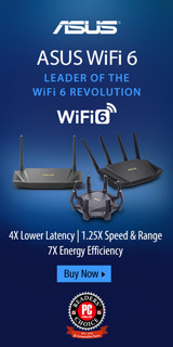 ASUS WiFi 6. Leaders of the WiFi 6 Revolution.