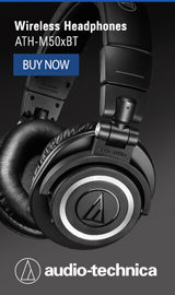 Wireless headphones from audio-technica
