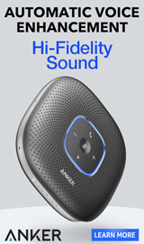 Automatic Voice Enhancement. Hi-fidelity sound. Anker.
