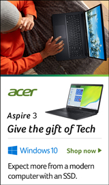 Acer Aspire 3. Give the Gift of Tech