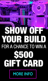 PC Build Showcase Contest – Enter to win $500 gift card!