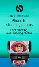 HP Envy Photo 7855. Phone to stunning photos.
