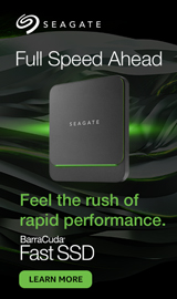 Seagate Fast SSD. Full speed ahead. Feel the rush of rapid performance.