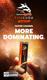 FireCuda. Faster loading. More Dominating.
