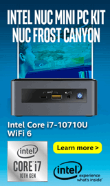 Intel NUC Mini PC Kit NUC10i7FNH Core i7 Frost Canyon