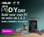 ASUS PCDIYday - Build your own PC as easy as 1,2,3; Quality. Reliability. Innovative. Shop Now