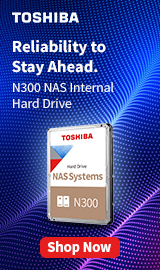 Toshiba. Reliability to stay ahead.